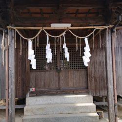 美保神社 拝殿1