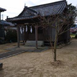 美保神社 拝殿全景