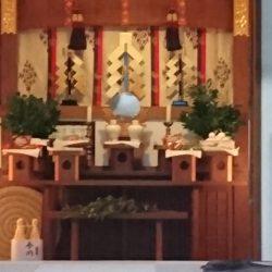 恵比寿神社 拝殿 内部