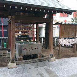 恵比寿神社 手水舎