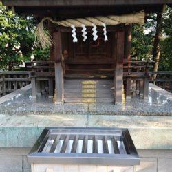 恵比寿神社 拝殿 近影